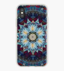 Didi's Blue Egyptian Water lily iPhone Case