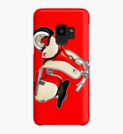 Scooter T-shirts Art: 1955 Lambretta LD 150 Reb and white Case/Skin for Samsung Galaxy