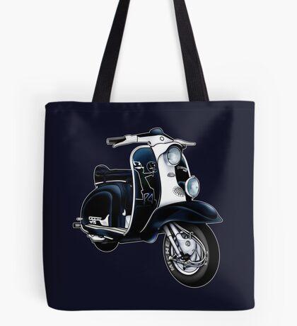 Scooter T-shirts Art: Lambretta Black Devil TV Tote Bag