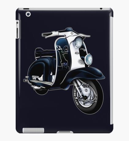 Scooter T-shirts Art: Lambretta Black Devil TV iPad Case/Skin