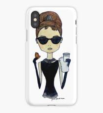 Audrey Hepburn, Breakfast at Tiffany's iPhone Case/Skin