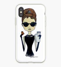 Audrey Hepburn, Breakfast at Tiffany's iPhone Case