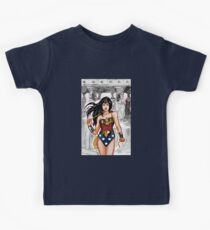 The Most Powerful Female Super Hero Kids Tee