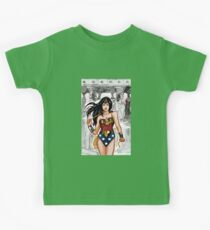 The Most Powerful Female Super Hero Kids Tee