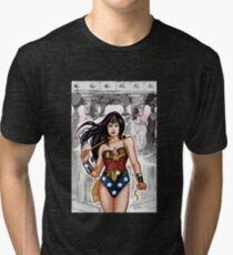 The Most Powerful Female Super Hero Tri-blend T-Shirt