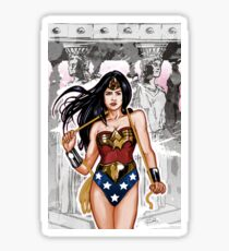 The Most Powerful Female Super Hero Sticker