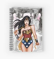 The Most Powerful Female Super Hero Spiral Notebook