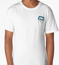 Xzer025 Ghost droll emote Long T-Shirt