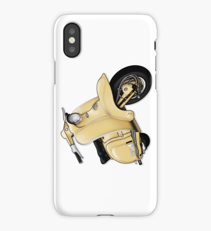 Scooter T-shirts Art: TV 175 Series 1 Scooter Design iPhone Case