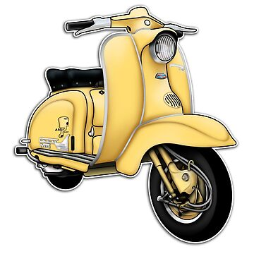 Scooter T-shirts Art: TV 175 Series 1 Scooter Design by yj8dsk57