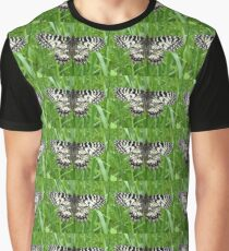Zerynthia Polyxena, the Southern Festoon Butterfly Graphic T-Shirt