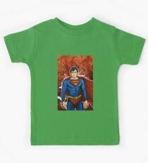The Super Hero  Kids Tee