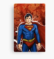 The Super Hero  Canvas Print