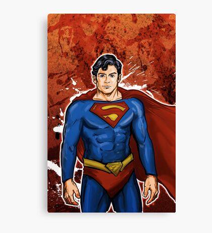 The Super Hero  Canvas Print