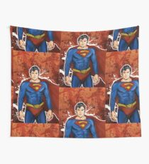 The Super Hero  Wall Tapestry