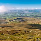 From the summit of Ingleborough by Stephen Knowles