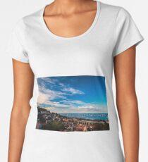 The Barcolana regatta in the gulf of Trieste Women's Premium T-Shirt