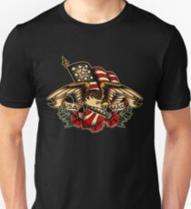 USA Made Patriotic Eagle Unisex T-Shirt