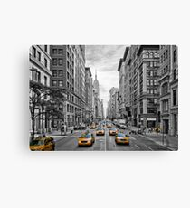 URBAN MANHATTAN 5th Avenue Canvas Print