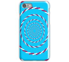 Vortex illusion iPhone Case/Skin