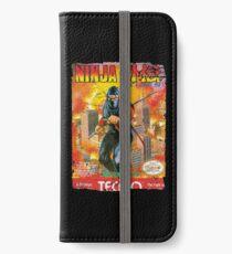NINJA GAIDEN NES COVER iPhone Wallet/Case/Skin