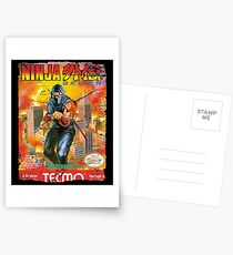 NINJA GAIDEN NES COVER Postcards