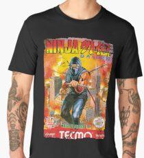 NINJA GAIDEN NES COVER Men's Premium T-Shirt