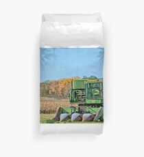 Old Corn Picker Duvet Cover