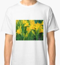 Yellow Lily in the garden Classic T-Shirt