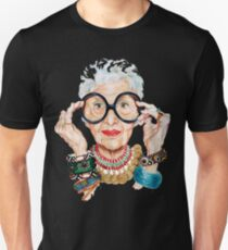 iris apfel - Fashion is ultimately a form of self-expression. That's why I love trying out new things. Unisex T-Shirt