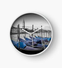 VENICE Grand Canal and St Mark's Campanile Uhr