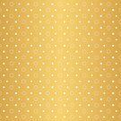 Art Deco, Simple Shapes Pattern 1 [RADIANT GOLD]  by Daniel Bevis