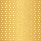 Art Deco, Simple Shapes Pattern 1 [RADIANT GOLD]  by DANIEL BEVIS