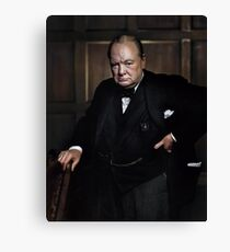 Winston Churchill 1941 von Yousuf Karsh Leinwanddruck