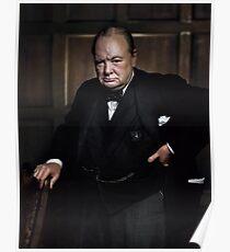 Winston Churchill 1941 by Yousuf Karsh Poster