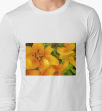 Orange Lily in the garden 4 T-Shirt