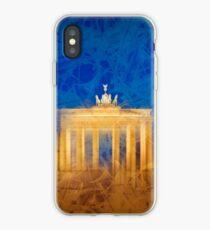 Modern Art BERLIN Brandenburg Gate iPhone Case