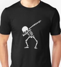 skeleton dap Unisex T-Shirt