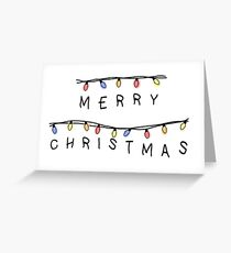 A Stranger Christmas  Greeting Card