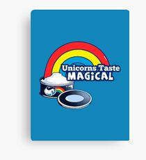 Magically Delicious | Funny Unicorn Shirt Canvas Print