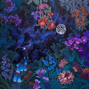 Night Space Magic Garden de Ruta