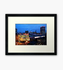 Manchester Skyline 2 Framed Print