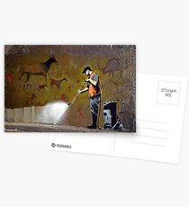 Postales Concejal de Banksy