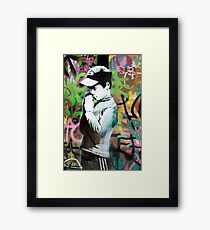 Banksy Prayer Framed Print
