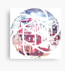 TRENDY DESIGN London Red Buses  Canvas Print