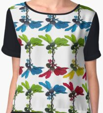 The fig tree plantation in the mediterranean land Chiffon Top