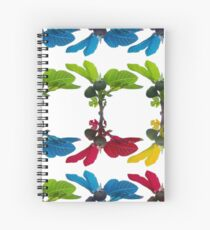 The fig tree plantation in the mediterranean land Spiral Notebook