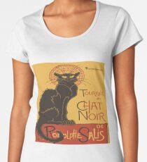 Tournee du Chat Noir De Rodolphe Salis Vector Women's Premium T-Shirt
