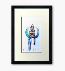 Tali: Never give up hope FAN ART Framed Print