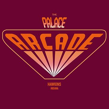 Stranger Things - Palace Arcade by PearShaped